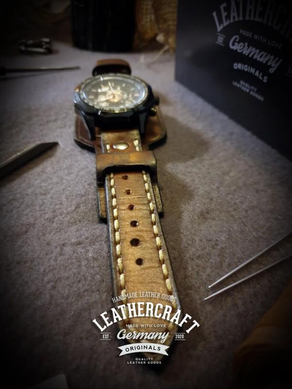 Leder Uhrenarmband Herren