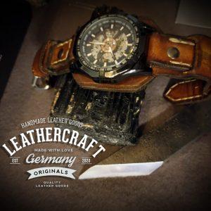 Leder Herren Uhrband