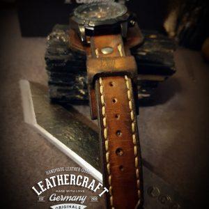 Herren Leder Uhrenarmband