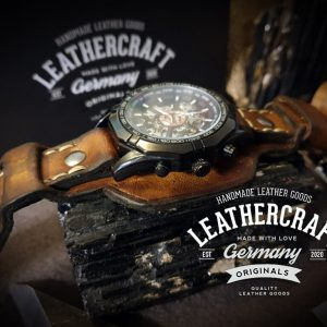 Uhrenarmband aus Leder vintage