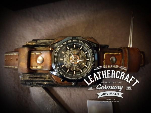 Vintage Leder Herren Uhrenarmbnd