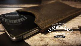 leder smartphone case
