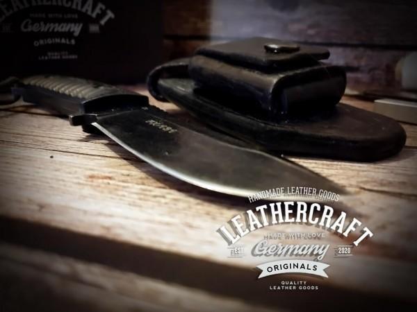 handgefertigte Fox-Knife Messerhülle