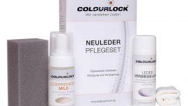 Lederpflege Colourlock Neuleder Pflegeset
