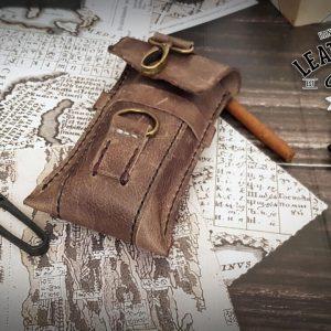 Bushcraft Echtleder Tasche