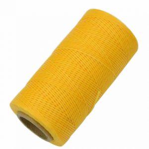 Sattlergarn gelb