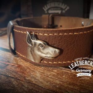 Leder Halsband für den Hund