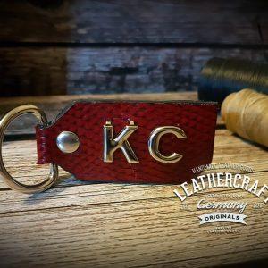Schlüsselanhänger Leder