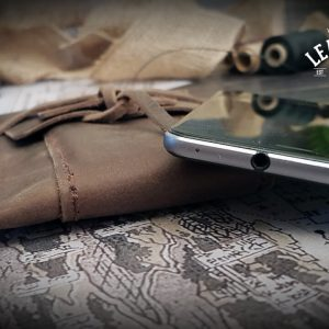 EDC Leder Tasche handgefertigt