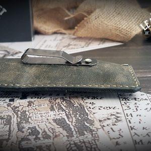 Leder Messerhülle Folder