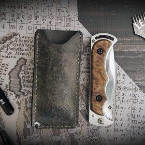 Leder Messerscheide Rindsleder
