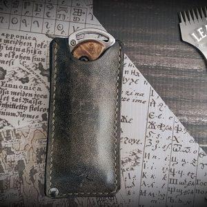 Leder Messerscheide vintage