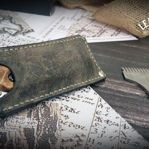 Leder Messerscheide Folding Knife