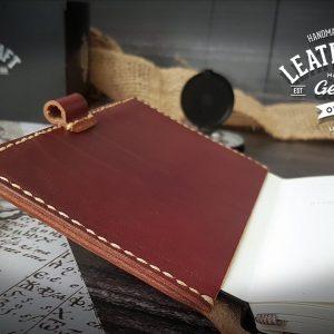 Moleskine rot Journal Leder
