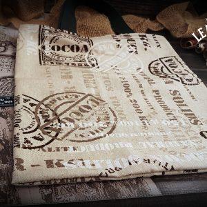 Shopping Bag Stoff Kakao