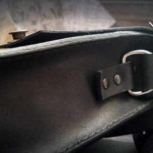Leder Umhänge Tasche