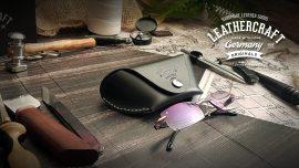 Brillenetui personalisiert aus Leder