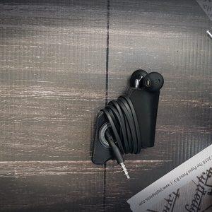Kopfhörer in-ear Etui Leder