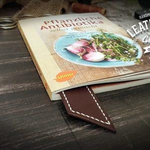 Lesezeichen Echt Leder personalisiert