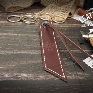 Lesezeichen aus Leder personalisiert