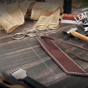 Lesezeichen aus Leder individuell