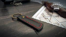 personalisierte Leder Schlüsselanhänger