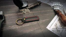 Schlüsselanhänger Leder mit Gravur