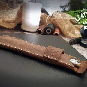 Etui für 2 Stifte aus Leder