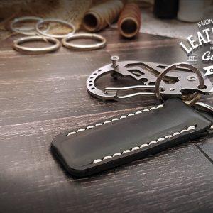 individueller Schlüsselanhänger Leder