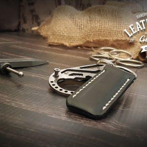 individueller Leder Schlüsselanhänger