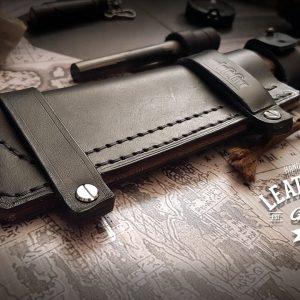 Messerscheide Bear Grylls Leder