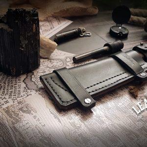 Messerscheide Leder