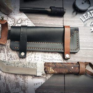 Messerhülle Bayley Leder