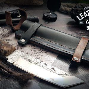 Messerhülle Bear Grylls Leder
