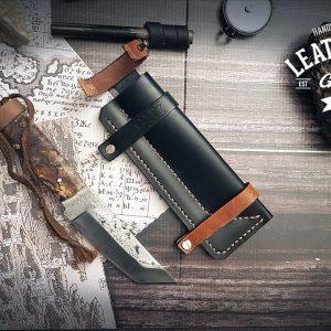 Leder Messerscheide Bear Grylls
