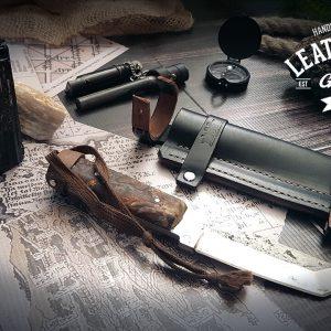 Leder Messerscheide Bayley Bear Grylls