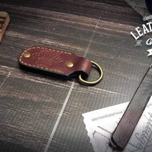 Leder Schlüsselanhänger Gravur