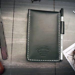Leder Notizbuch Etui